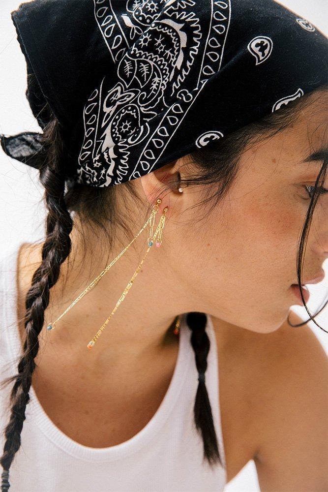 boucles d'oreilles cecile personnaliser