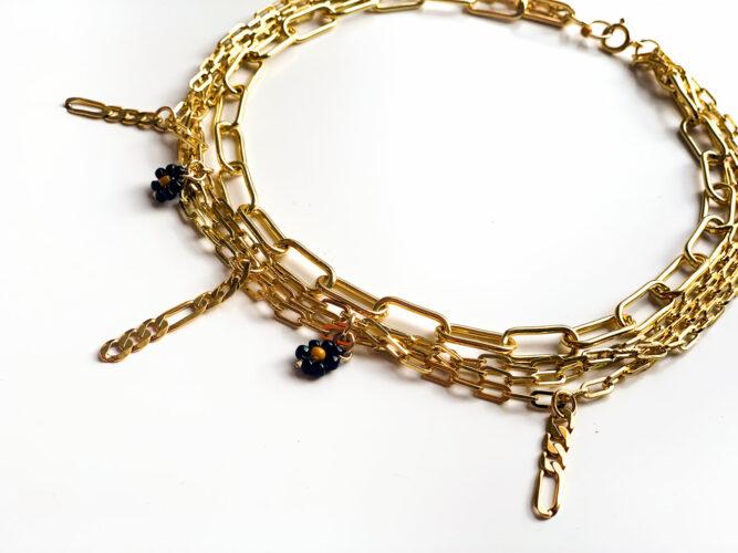 mini drop collier bracelet