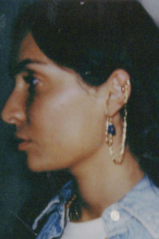 bijoux habibi boucle d oreille salome or remplis claude paris